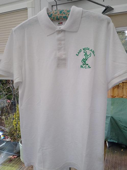 White Polo With Logo