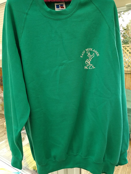 Green Jumper with Logo
