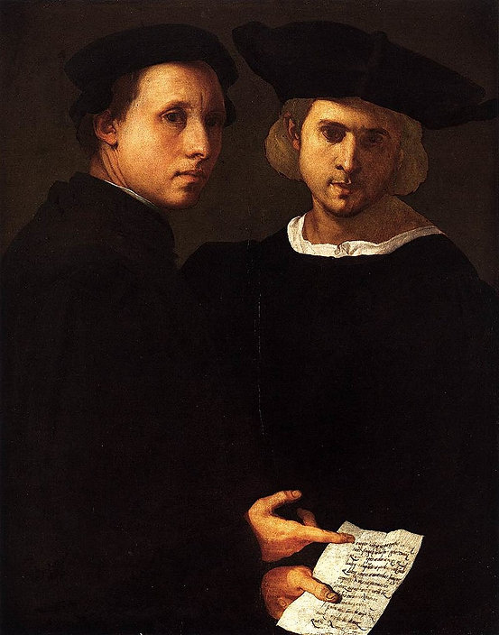 Pontormo_-_Portrait_of_Two_Friends_-_WGA