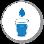 Potable Water Icon - White Background.pn