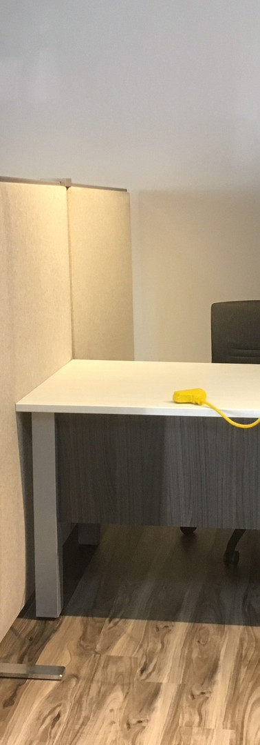 Espace à bureau de coworking
