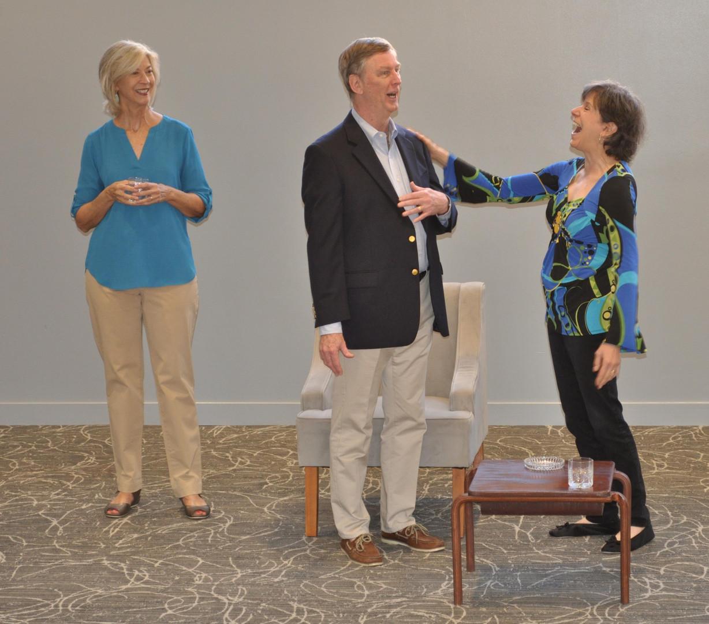 Nancy Blum (Polly Wyeth), Ted Culler (Lyman Wyeth) and Sue Holliday (Silda Grauman)
