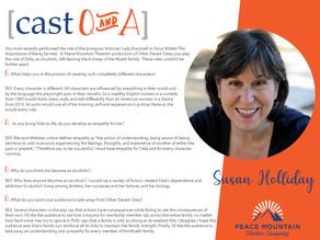 Other Desert Cities Cast Q&A: Susan Holliday