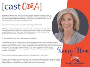 Other Desert Cities Cast Q&A: Nancy Blum