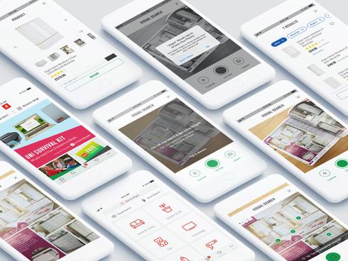 Argos Native Apps - Visual Search