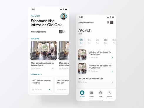 The Collective Member App - Native App UX & Design
