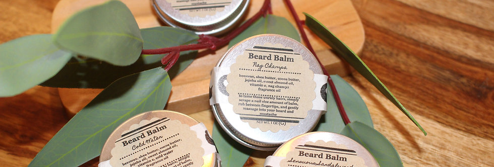 Beard Balms (1 oz Tin)
