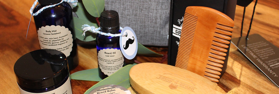 Men's Beard Care Gift Set