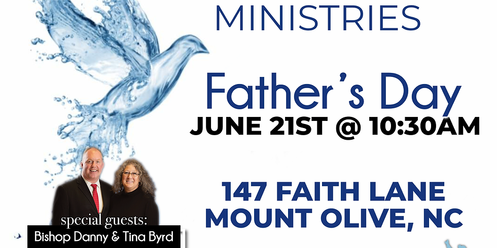 Special Father's Day Service @ Potter's Wheel Ministries