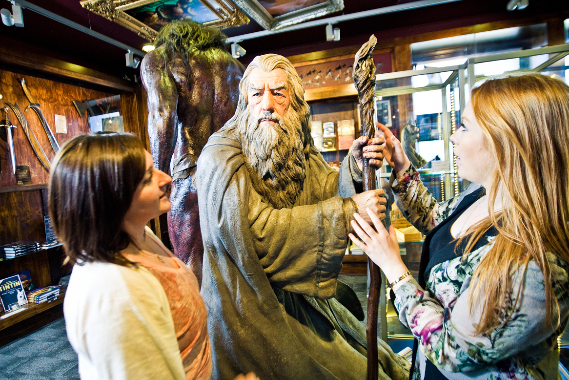 Meet Gandalf at Weta Cave