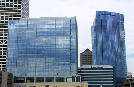 833 Building and Northwestern Mutual Tower