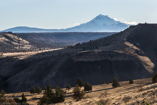 Mt Jefferson from Warm Springs