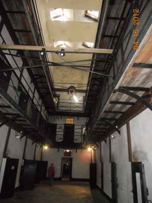 two floors of cells