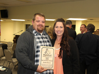 Annual Chamber Banquet Honors Local Individuals
