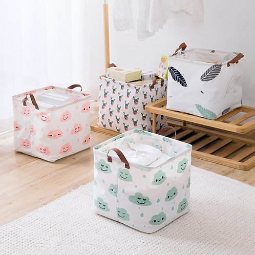 Laundry Basket Foldable Toy Basket Bathroom Storage Baskets Clothes Organize