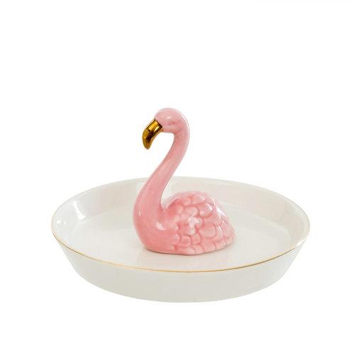 Assiette à bijoux Flamingo