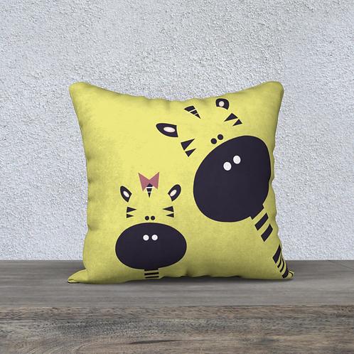 "Coussin décoratif ""GIGI Girafe"""