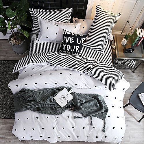 Fashion Simple Style Home Bedding Sets Bed Linen Duvet Cover ,bed Set 2020