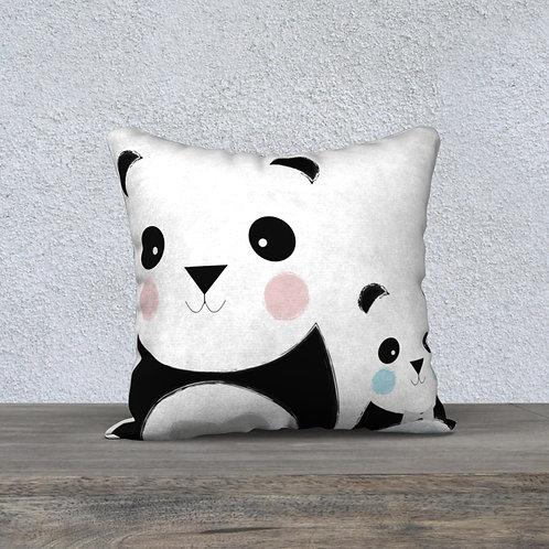 Coussin Panda Maman/BBG