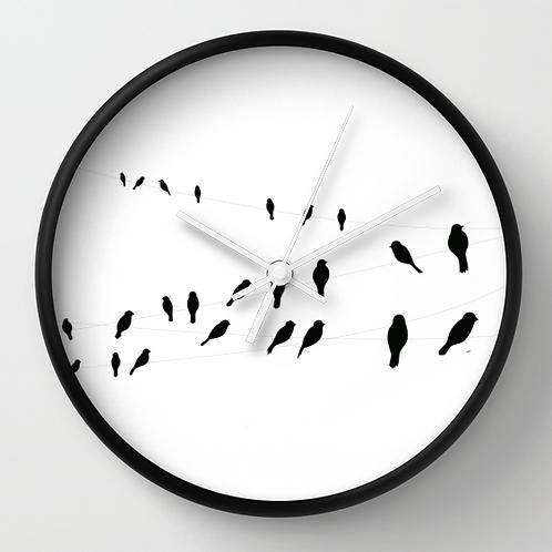 horloge murale décorative
