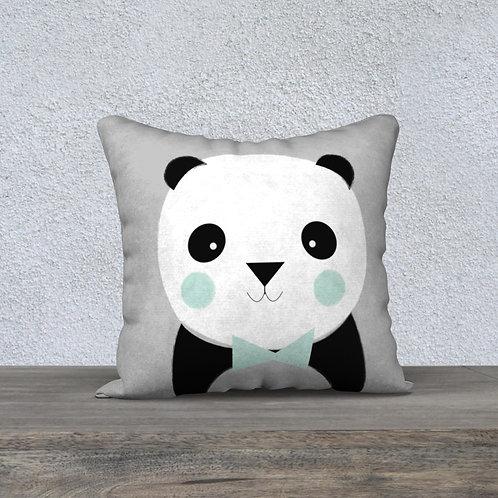 Coussin Panda Gris/P