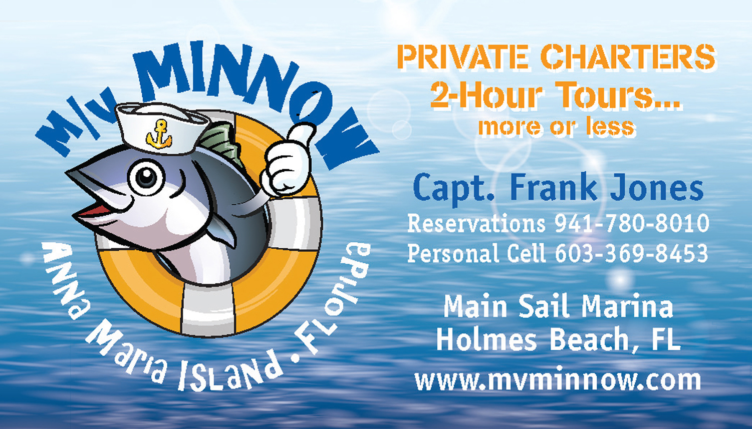 M/V Minnow — Frank Jones
