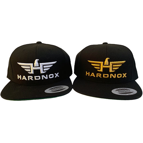 HardNox Hat White or Gold print