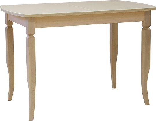 Стол «Трапеза со стеклом»