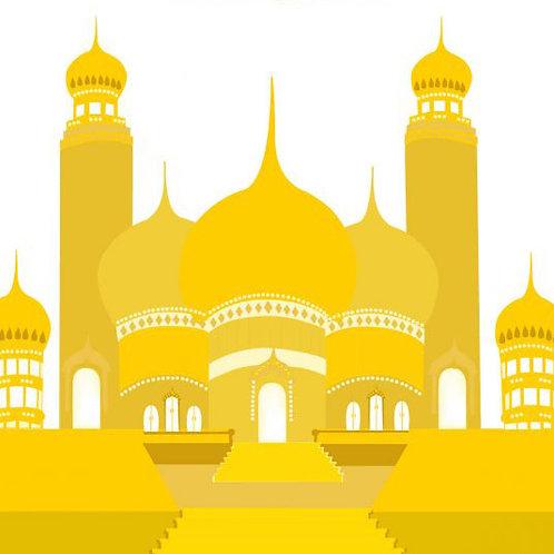 Temple of Golden Light - E-Book