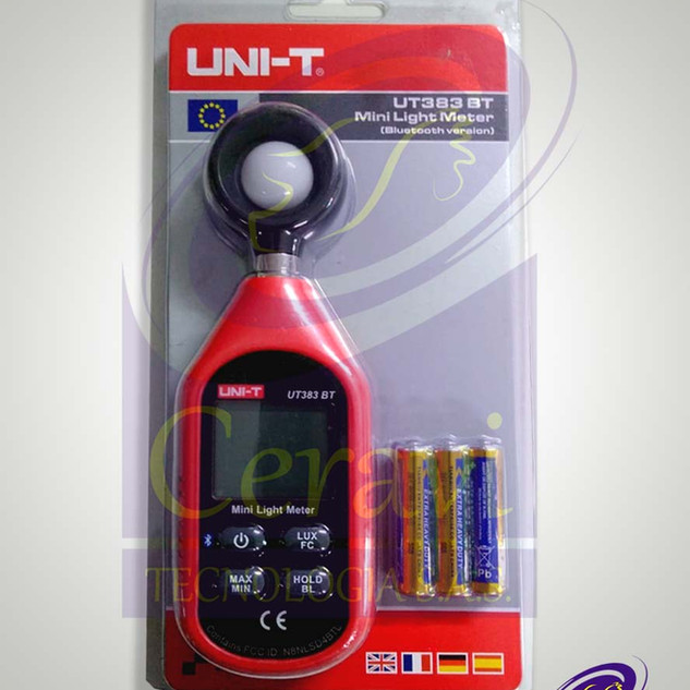 Mini luxometro digital