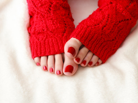 5 Reasons We Need Pedicures in the Winter
