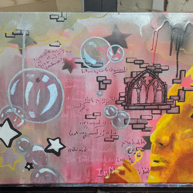 """Cloud Cities #1 """"My Mind Is a Box"""""""