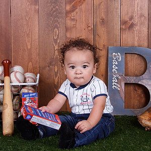 Kenny's 6 Month Portraits