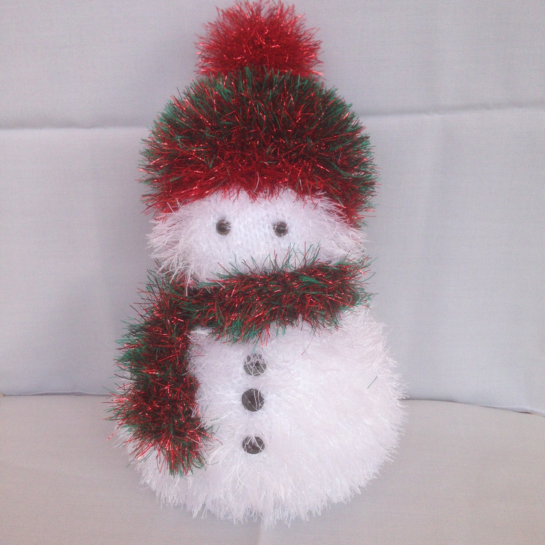 219 Tinsel Snowman