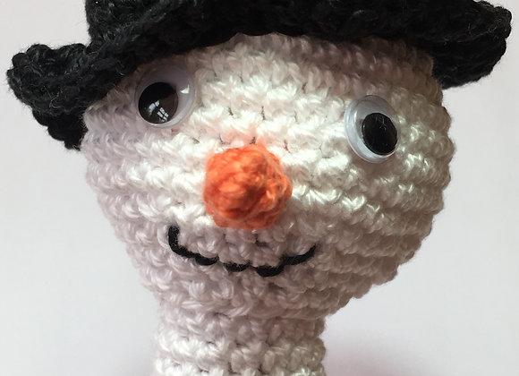 Snowman Finger Puppet PATTERN