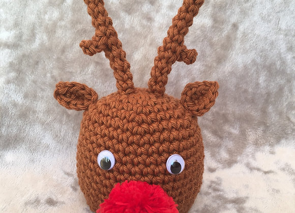 Reindeer Chocolate Orange Cover PATTERN