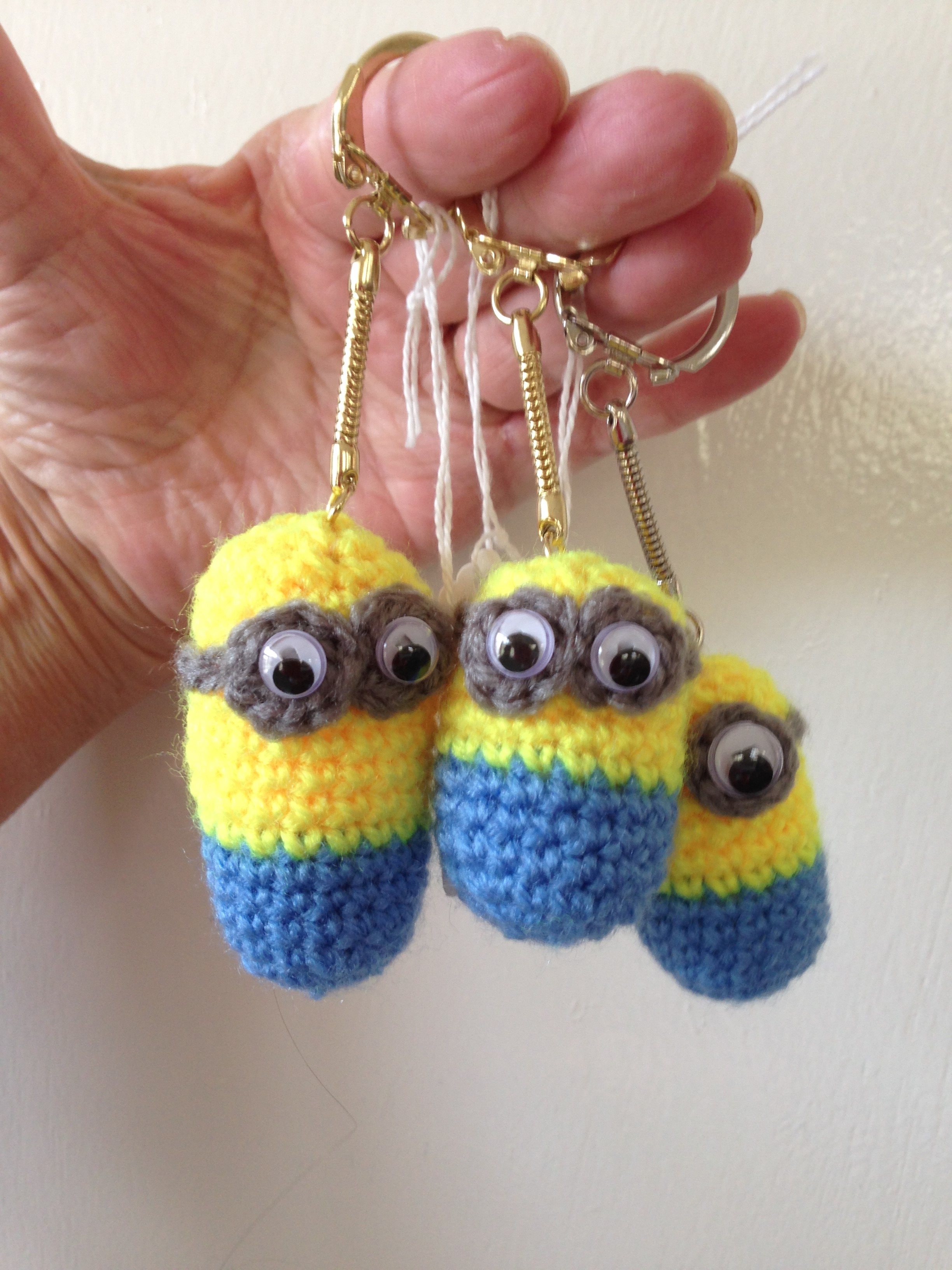 134 Minion Keyrings