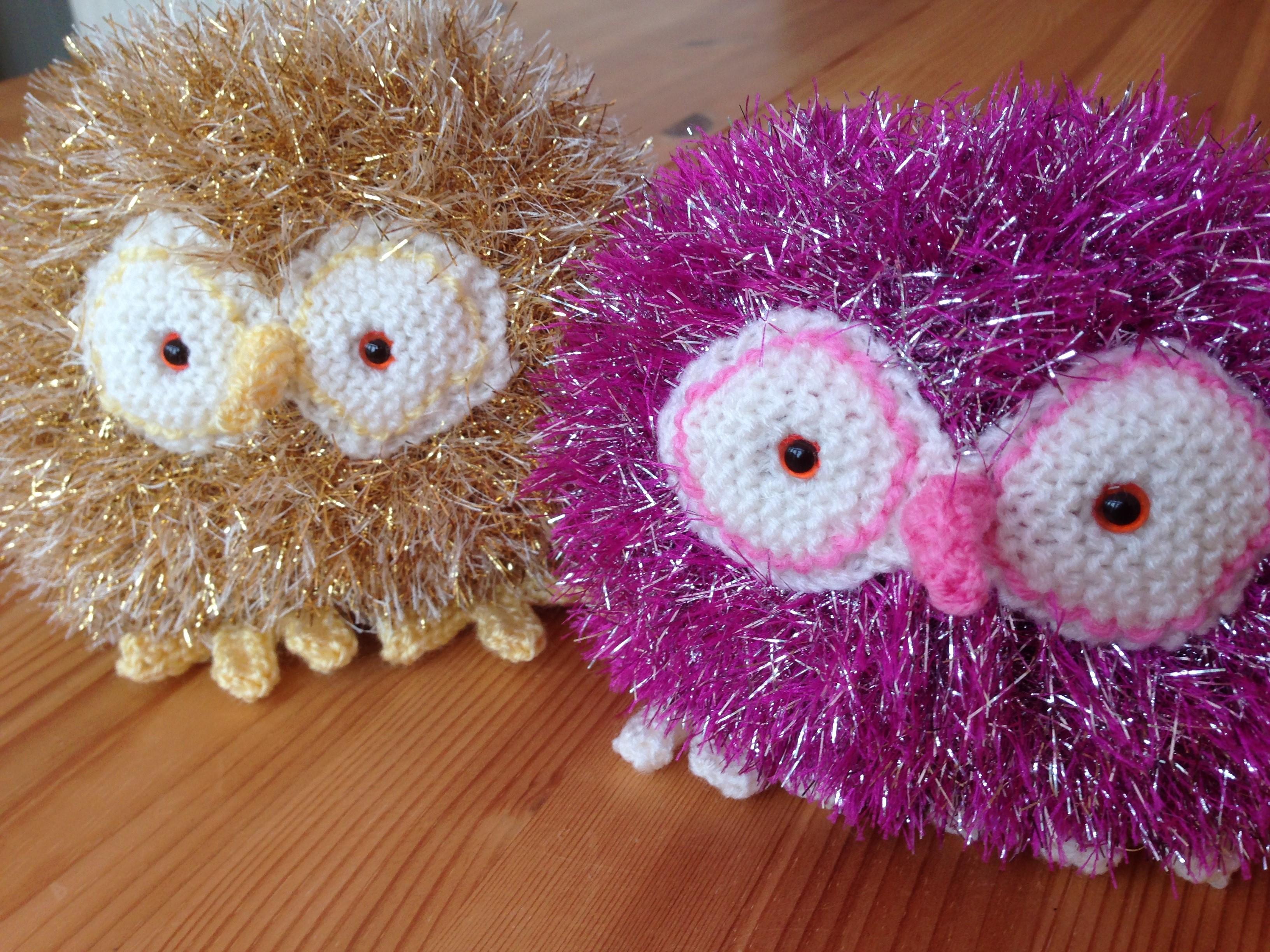 158 Tinsel Owl