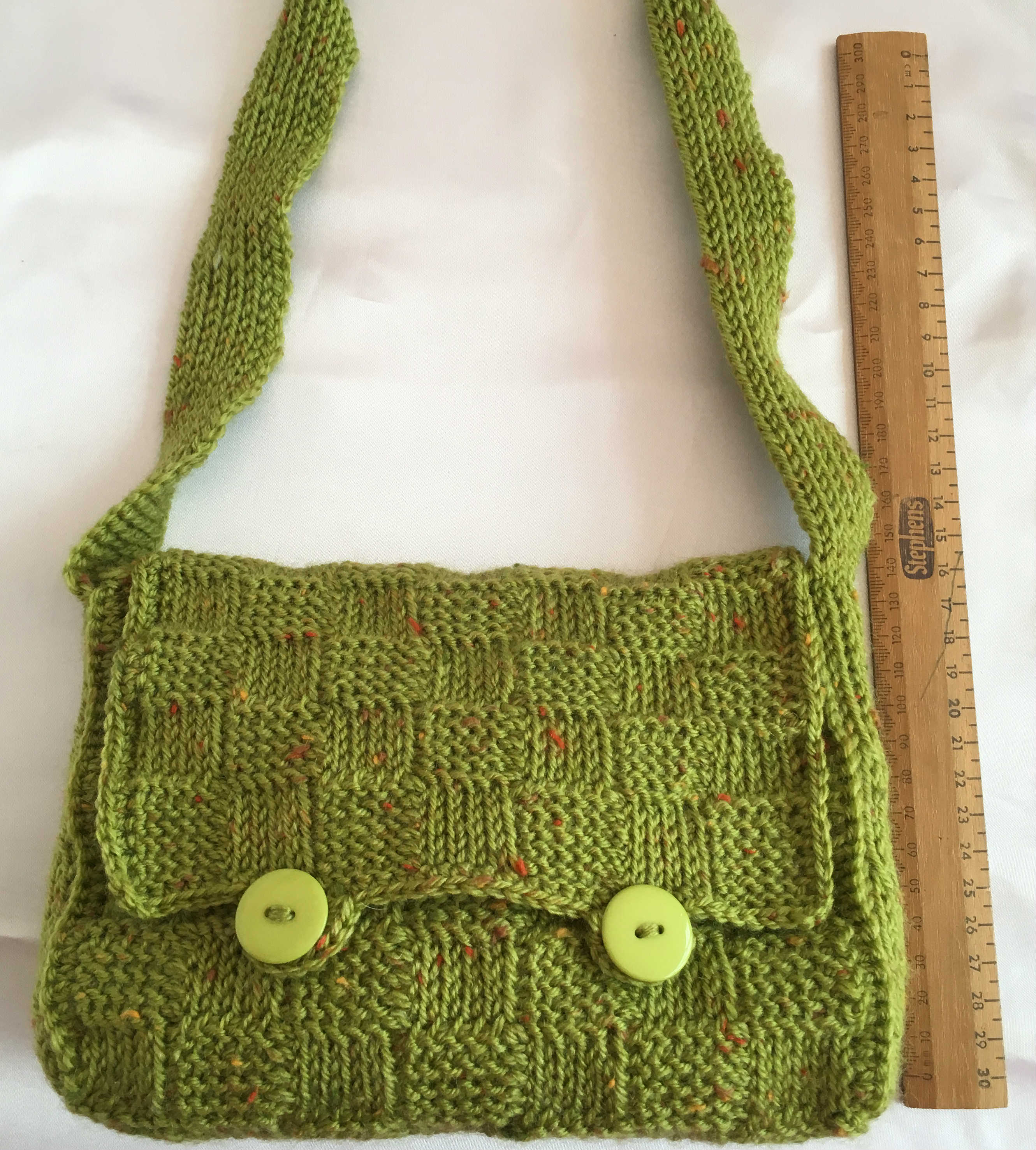 249 Tunisian Shoulder Bag