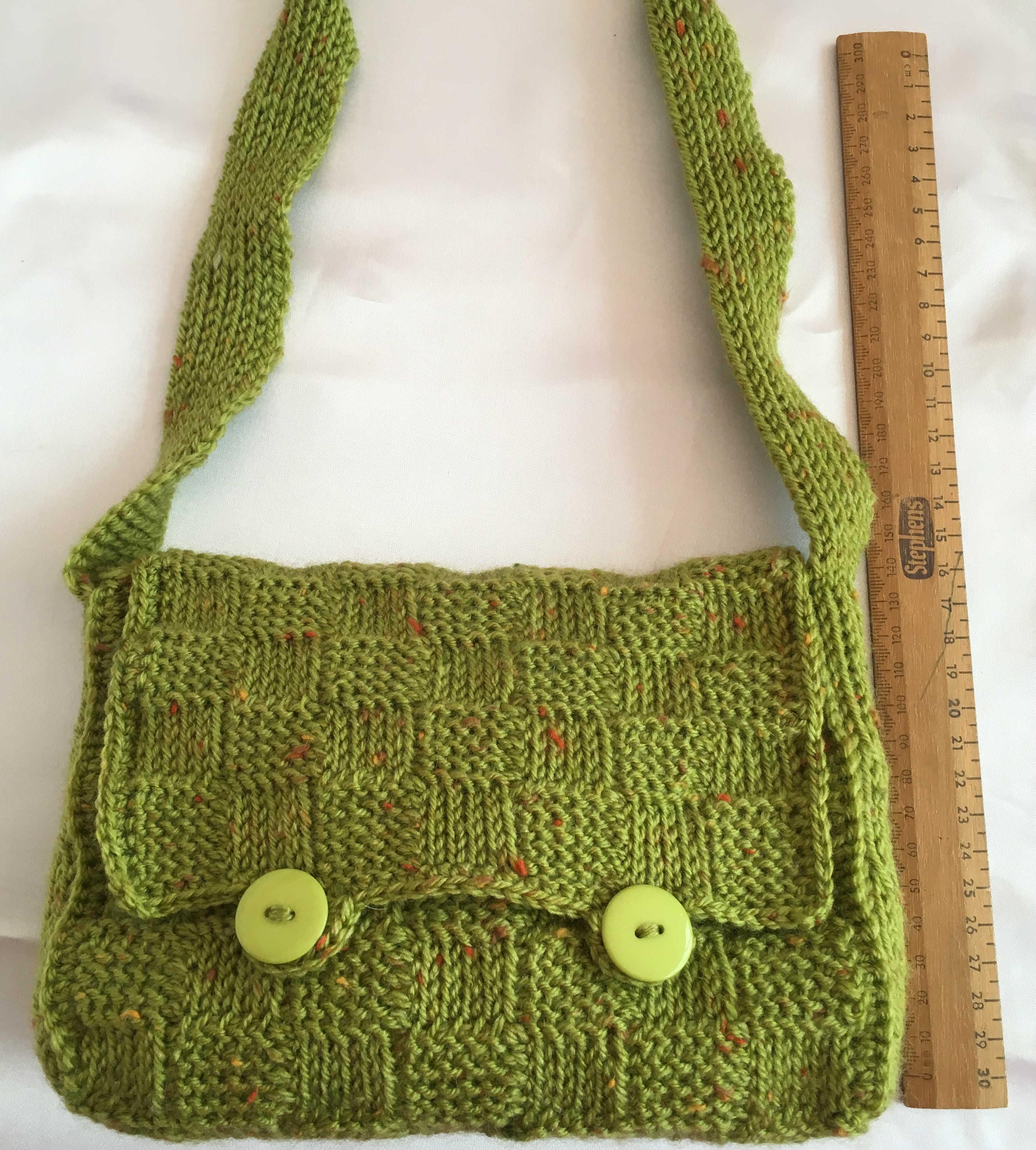 249 Tunisian Shoulder Bag