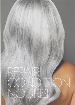 white hot hair