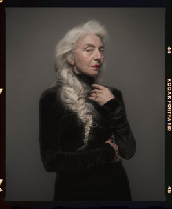 portrait on film