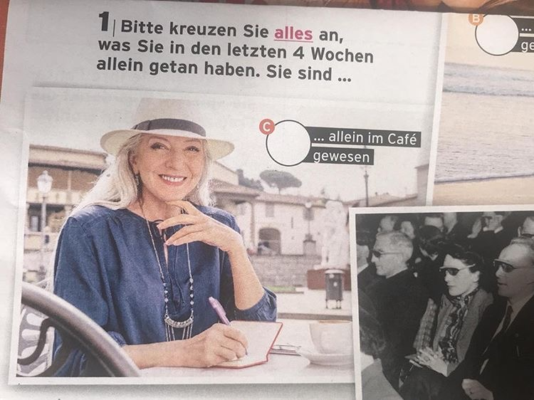 In a German weekly