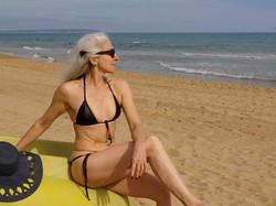 Lux leather bikini
