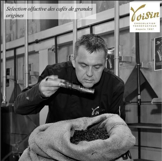 Voisin est spécialisée dans la fabrication de chocolats et café haut de gamme.