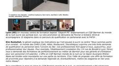 Ouverture du premier CQP Barman du monde de la nuit en région Auvergne Rhône Alpes - sur lhotellerie