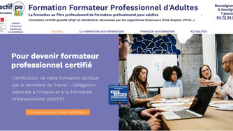 Notre centre de formation est certifié pour former les formateurs professionnels