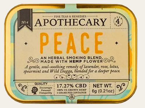 Apothecary Peace | Hemp CBD Smoking Blend