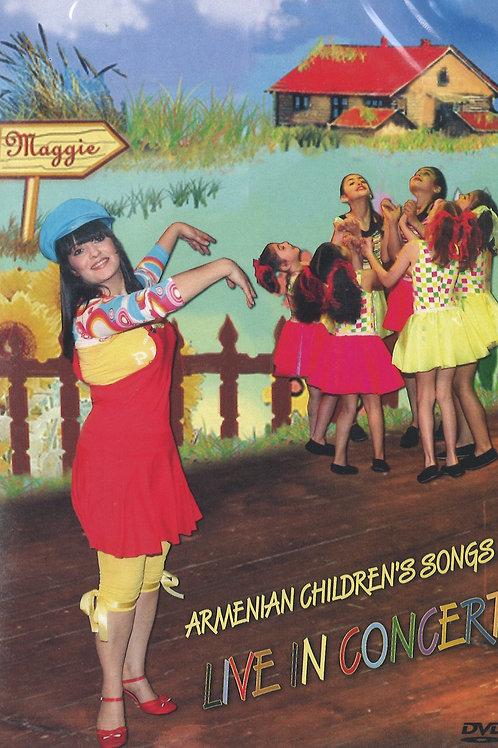 Maggie Live in Concert, Armenian Children's Songs - DVD