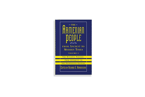 Armenian People from Ancient to Modern Times Vol I